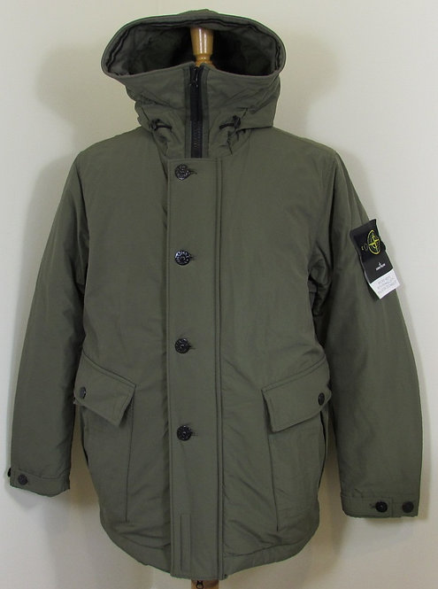 711540626 Stone Island 'Micro Reps with Primaloft Insulation' Jacket - Khaki