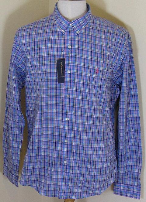 Ralph Lauren Polo Long Sleeved Shirt in Blue (CR16)