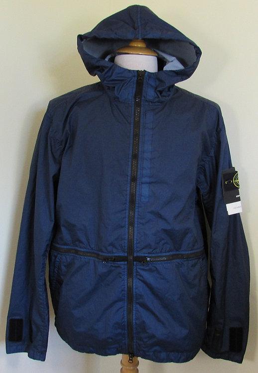 701540123 Stone Island 'Membrana 3L TC'  Hooded Jacket in Ink (V0028)