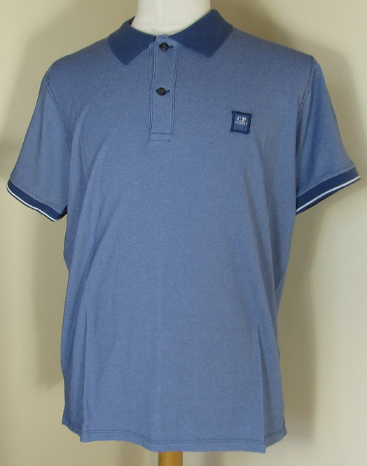 02CMPL005A C.P. Company 'Tacting' Polo Shirt in Blue (875)