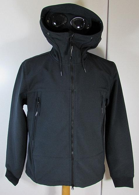 05CM0W001A C.P. Company 'Shell' Goggle Hood Jacket in Black Coffee (392)