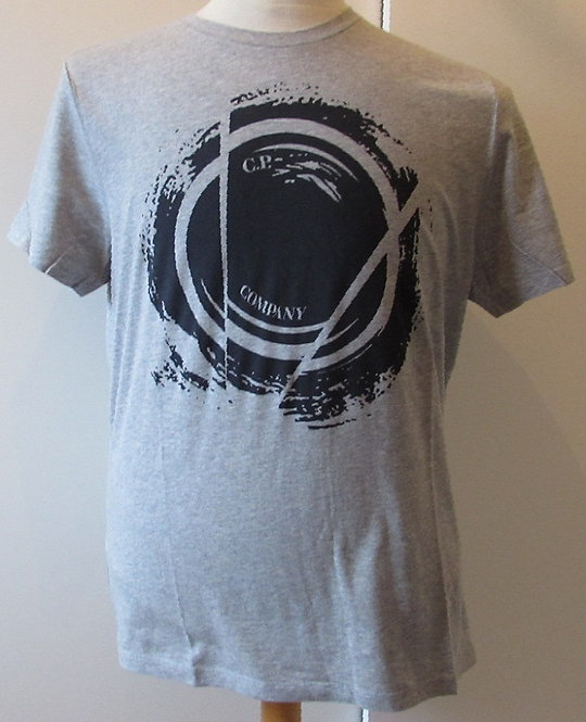 03CMTS212A C.P. Company 'Watchviewer' Tee Shirt in Grey (M93)