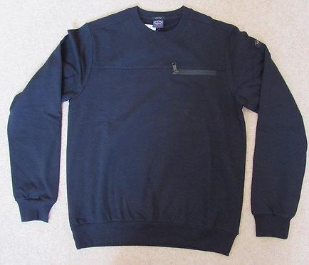 A17P1804SF Paul & Shark Round Neck Sweatshirt in Black (011)