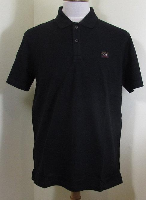 COP1000 Paul & Shark Polo Shirt in Black (011)
