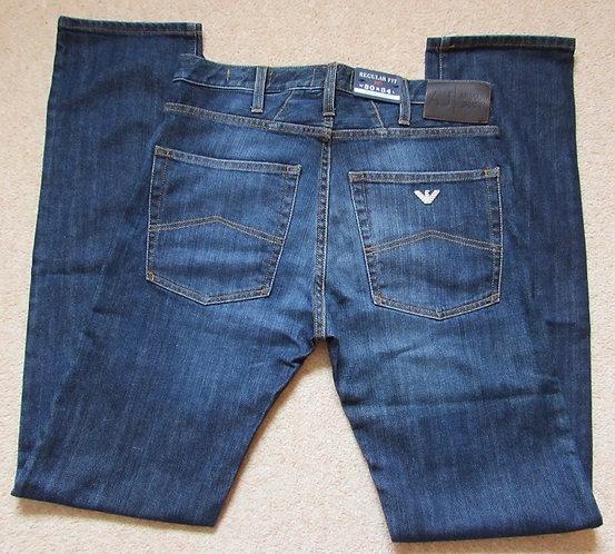 76 J45 Armani Jeans Regular Fit in Fade Denim (15)