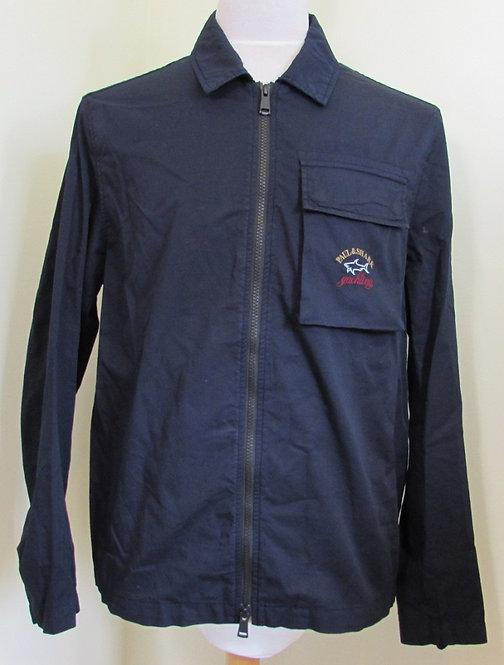 C0P2106F Paul & Shark 'Crew' Overshirt in Dark Navy(050)