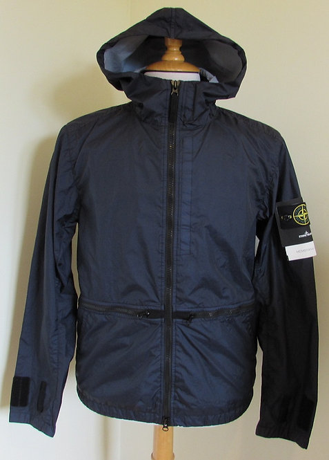 701540123 Stone Island 'Membrana 3L TC'  Hooded Jacket in Navy (V0020)