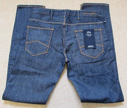 3Y6J06 6D1TZ J06 Armani Jeans Slim Fit in Denim Indaco (1500) - Contrast Stitch