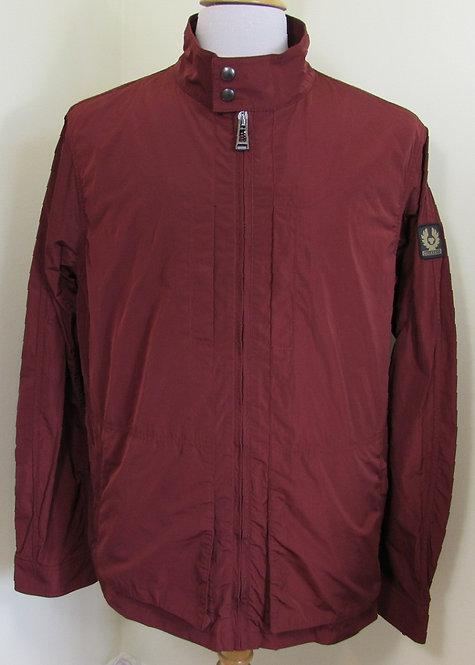 Belstaff 'Grove' Jacket in Dark Carnelian Burgundy (50050)