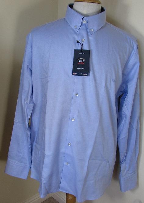 I15P1318SF Paul & Shark Long Sleeve Shirt in Light Blue (014)
