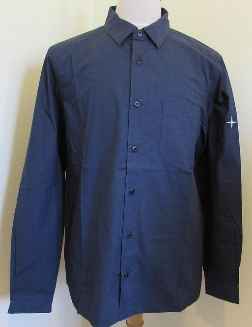 721512510 Stone Island long sleeve shirt in Marine Blue (V0028)