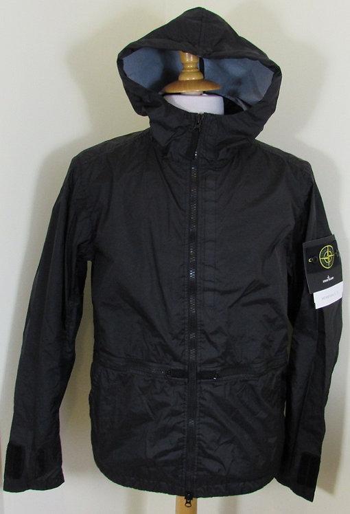 701540123 Stone Island 'Membrana 3L TC'  Hooded Jacket in Black (V0029)