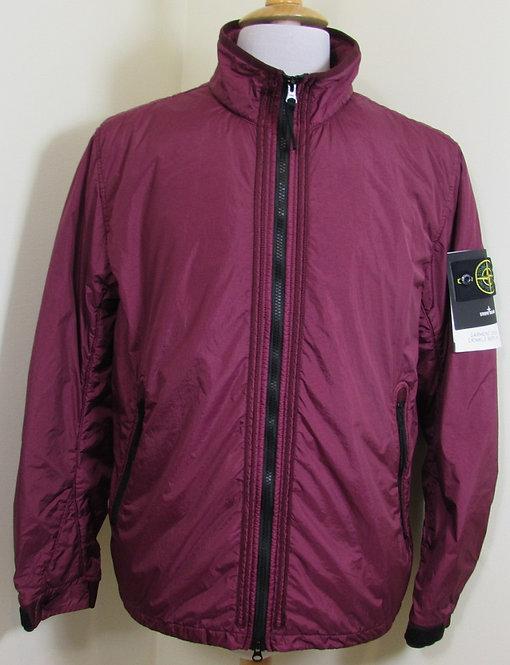 6915Q0223 Stone Island 'Garment Dyed Crinkle Reps NY' Jacket in Garnet (V0014)