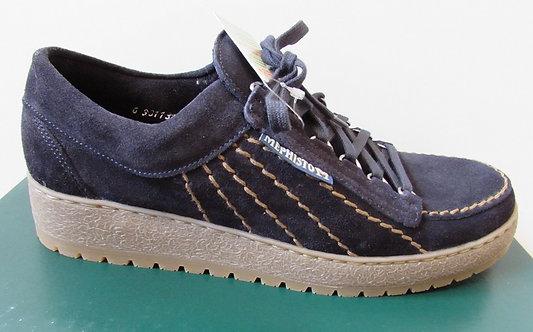 Mephisto 'Rainbow' Shoes in Navy (9855)