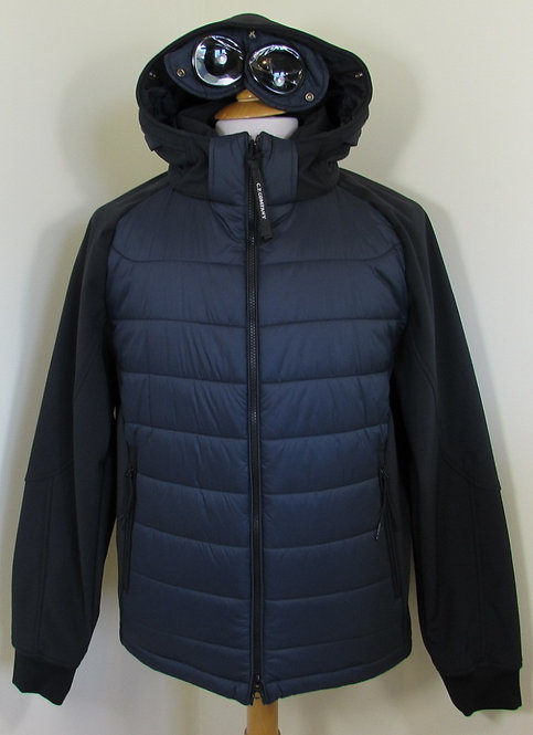 05CM0W009A C.P. Company 'Shell' Goggle Hood Jacket in Total Eclipse Navy (888)