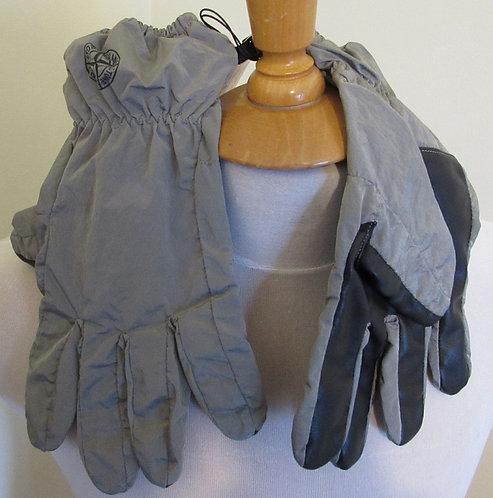 711592069 Stone Island Gloves in Grey (V0064)