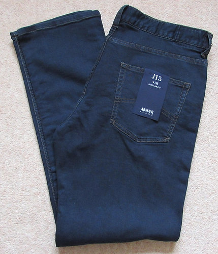 6Y6J15 6D2PZ J15 Armani Jeans Regular Fit in Dark Denim - Denim Indaco (1500)