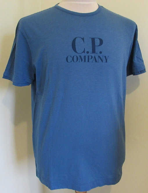 06CMTS222A C.P. Company Tee Shirt in Blue (849)