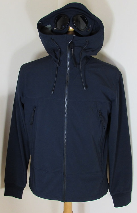 02CMSS133A  C.P. Company 'Shell' Goggle Hood Jacket in Navy (888)