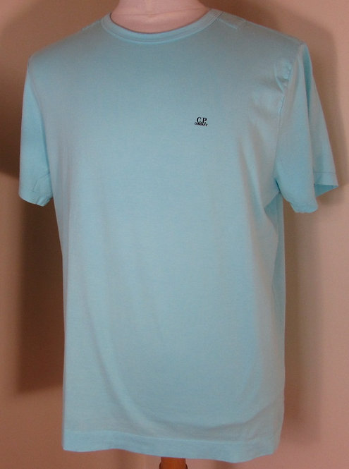 04CMTS063A C.P. Company 'Tee Shirt in Radiance Blue (827)