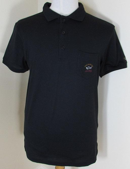 I16P1603SF Paul & Shark Polo Shirt in Black (011)