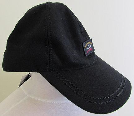 COP7162 Paul & Shark Baseball Cap in Black (011)
