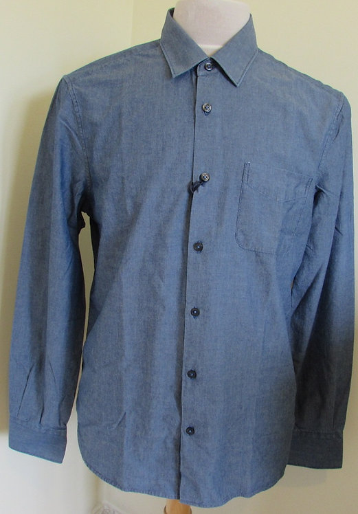 16SCPUS01172 C.P. Company Long Sleeve Shirt in Blue (D07)