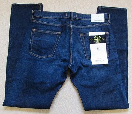 6615J1BI2 Stone Island SL Jeans in Vintage Wash Denim (VISC)
