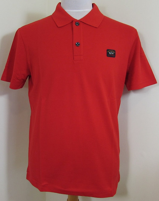 C0P1000 Paul & Shark Polo Shirt in Red (577)