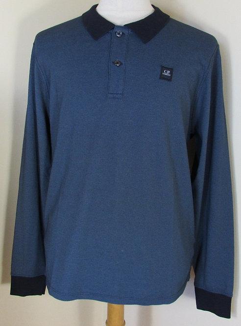 16WCPUT0117 C.P. Company 'Tacting' Polo Shirt in Navy (887)