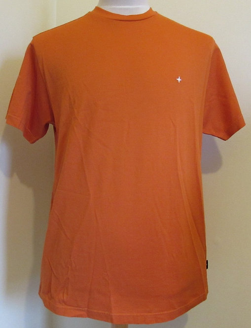 711521312 Stone Island Round Neck Tee Shirt in Orange (V0032)