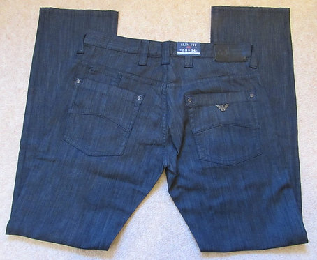 6J08 J08 7N Armani Jeans Slim Fit in Black (Nero)