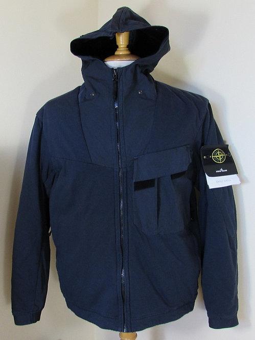 6515Q1110 Stone Island 'Jersey Shell' Jacket in Dark Blue (V0028)