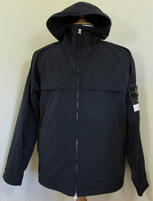 721540522 Stone Island 'Micro Reps' Hooded Jacket in Navy (V0020)