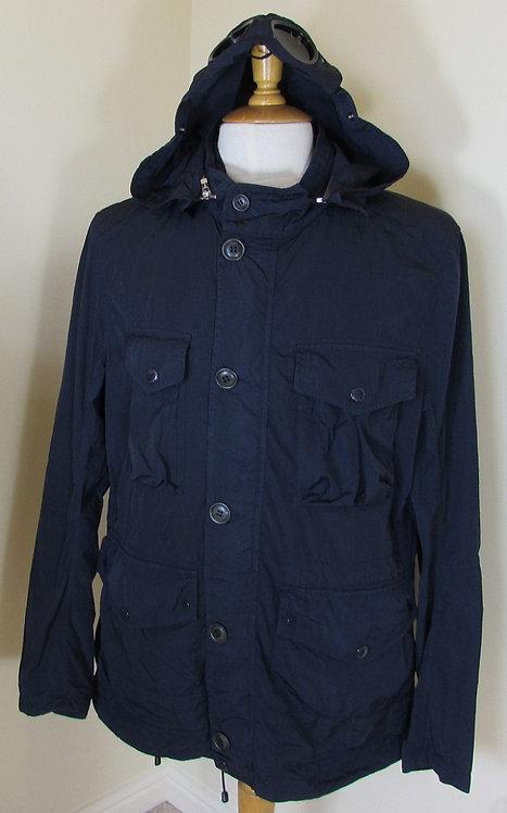 16SCPUB04027 C.P. Company 'Chrome' Goggle Hood Jacket in Navy (880)