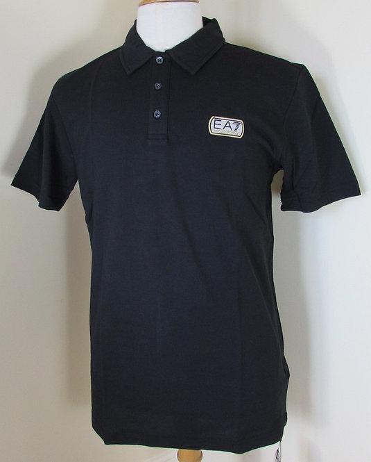 6P276 EA7 Emporio Armani Polo Shirt in Nero Black (00020)