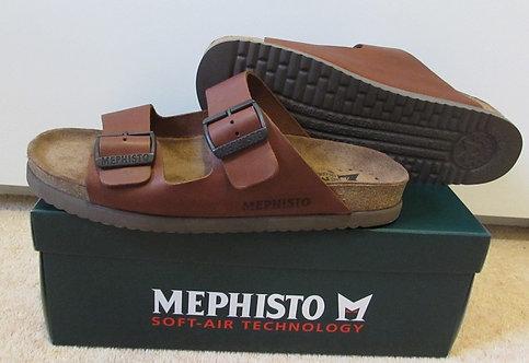 Mephisto 'Nerio' Shoes in Chestnut Scratch (3478)