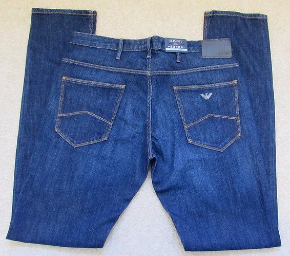 8NJ06 6D0LZ J06 Armani Jeans Slim Fit in Dark Denim - Denim Indaco (1500)