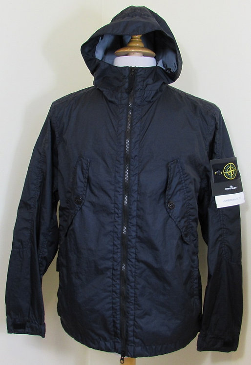 681541123 Stone Island 'Membrana 3L TC' Hooded Jacket in Navy (V0020)