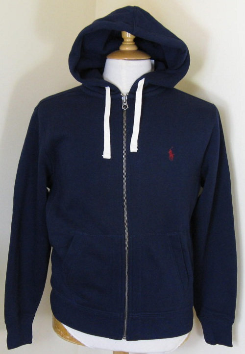 Ralph Lauren Hooded Sweatshirt in Navy