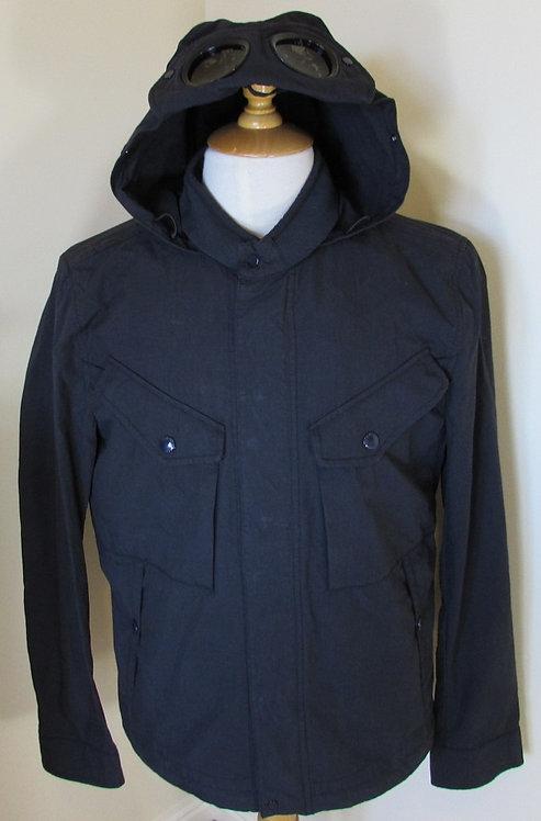 16SCPUC04023 CP Company '50 Fili' Goggle Hood Jacket in Navy (888)