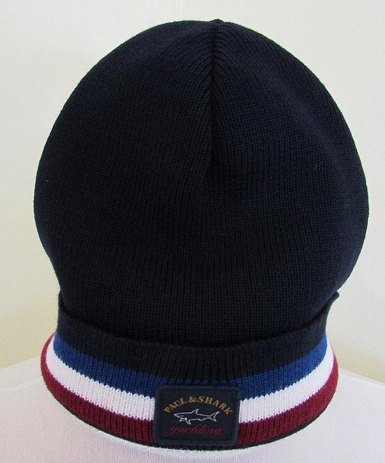 COP1056 Paul & Shark Woolly Hat in Navy (050)