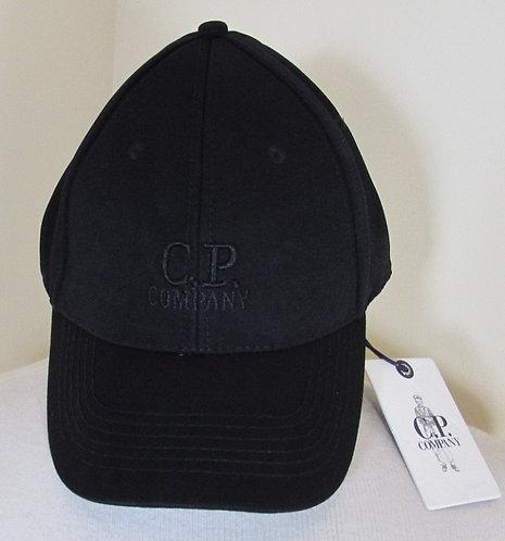 16WCPUA04537 C.P. Company Baseball Cap in Black (999)