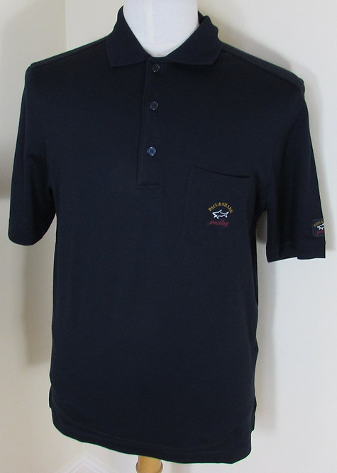 I16P1603SF Paul & Shark Polo Shirt in Navy (150)