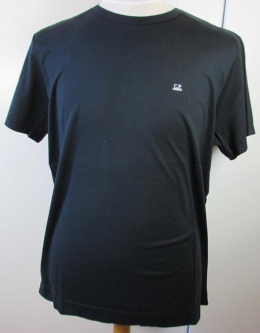 04CMTS063A C.P. Company 'Mako Cotton' Tee Shirt in Black (999)