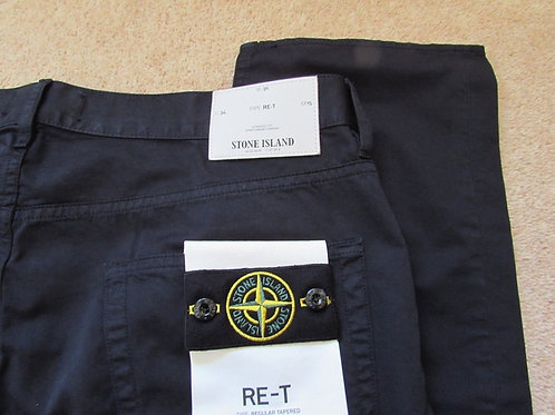 6415J1BZM Stone Island RE-T Jeans in Navy (V0020)