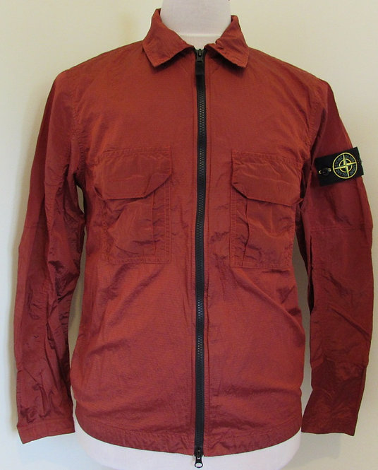 70151117 Stone Island 'Ripstop Nylon Metal' Jacket/Overshirt in Red (V0015)