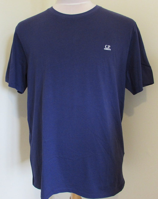 08CMTS291A C.P. Company Tee Shirt in Blue (878)