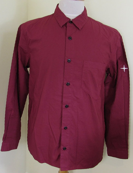 691512501 Stone Island long sleeve shirt in Red (V0003)