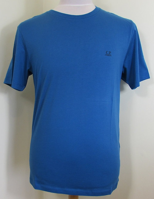 10CMTS039A C.P. Company Short Sleeve Tee Shirt in Blue (870)